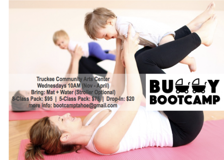 Truckee Donner Recreation & Park District, Buggy Bootcamp, Stroller-Fitness, Weds + Fri 10am