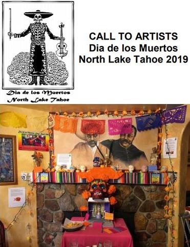 Dia De Los Muesrtos - Kings Beach, Lake Tahoe, Call to Artists - Dia de los Muertos North Lake Tahoe 2019
