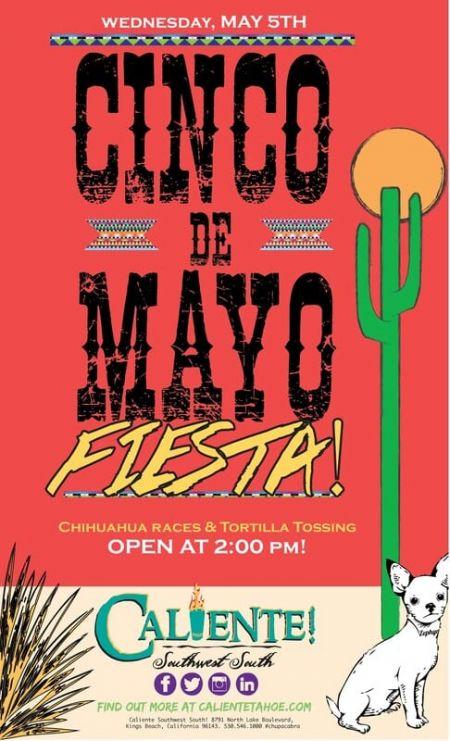 Caliente, Cinco De Mayo fiesta at Caliente!