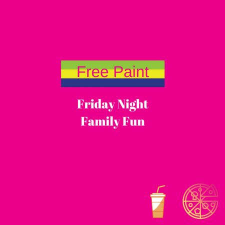 Tahoe Modern Makers, Friday Night Family Fun - FREE Paint