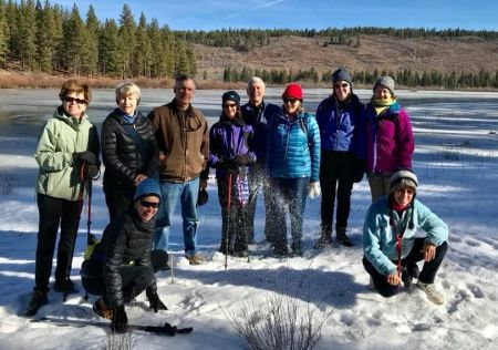 Carmen Carr Real Estate, January Hike to Lost Trail Lodge