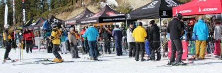 Diamond Peak Ski Resort, Village Ski Loft Demo Day
