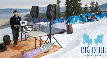 Homewood Mountain Ski Resort, DJ @ Big Blue View Bar