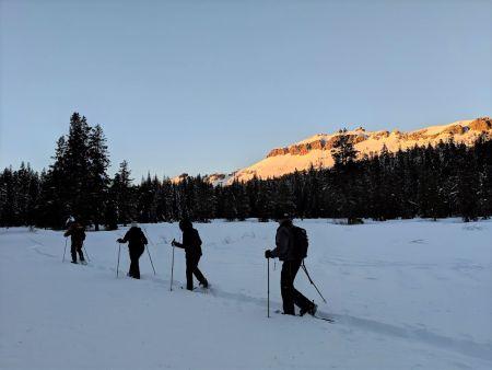 Tahoe Adventure Company, Sunset Snowshoe Tours