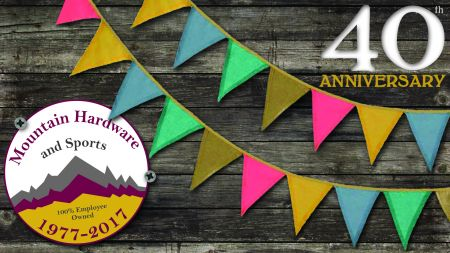 Mountain Hardware & Sports, 40th ANNIVERSARY PARKING LOT EVENT