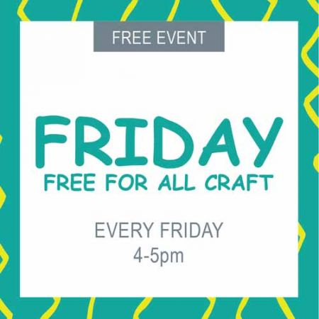 Tahoe Modern Makers, Free Craft Friday
