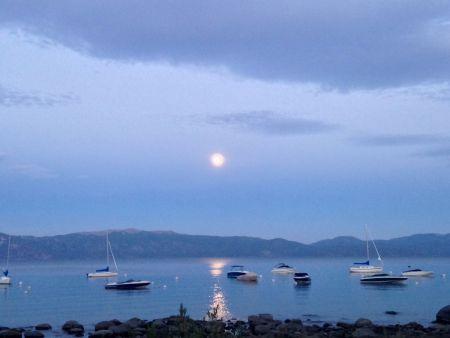 Tahoe Adventure Company, Full Moon Kayak Tours
