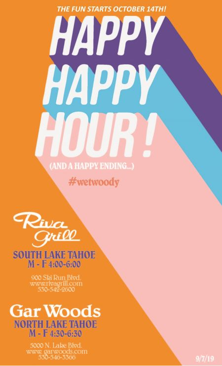 Gar Woods Grill & Pier, Happy Hours on the Lake!