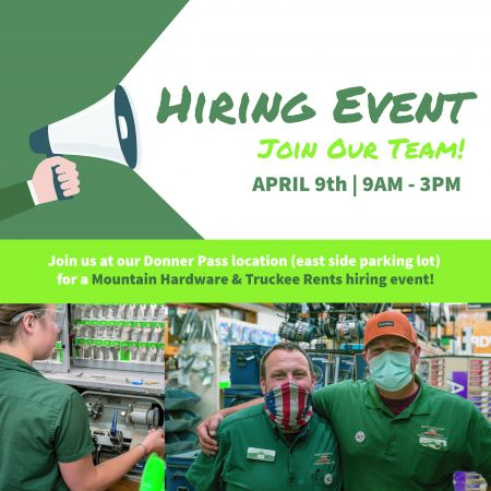 Mountain Hardware & Sports, Hiring Event - Join Our Team!