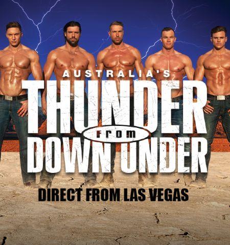 Hard Rock Hotel & Casino, Thunder from Down Under