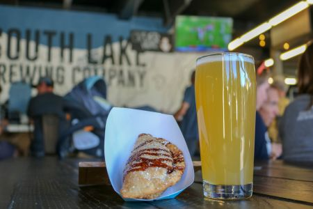 South Lake Brewing Company, Football Sunday with Empanash on-site