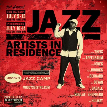 Moody's Bistro, Bar & Beats, 14th Annual Jazz Camp