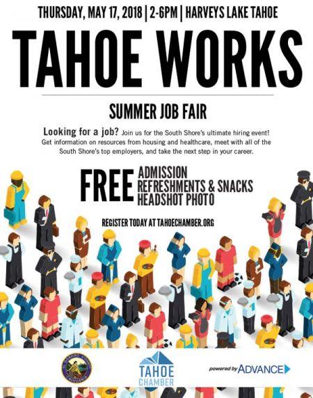 Tahoe Chamber, Tahoe Works | Summer Job Fair