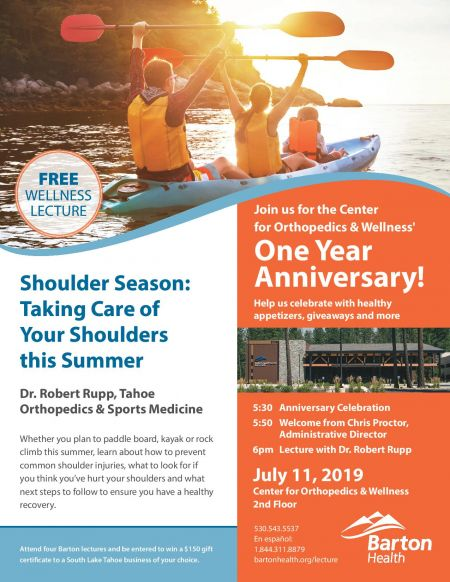 Barton Health, Center for Orthopedics & Wellness - One Year Anniversary