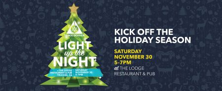 The Lodge Restaurant & Pub, 14th Annual Light Up the Night