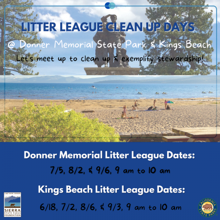 Sierra State Parks Foundation, Litter League Clean Up Days