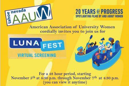AAUW Tahoe-NV, Lunafest2021 - Documentary Short Films