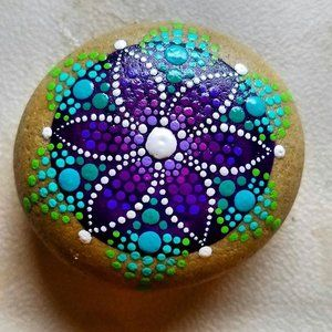 Tahoe Modern Makers, Coffee + Crafts - Mandala Rock Painting