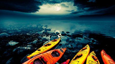 Tahoe City Kayak and Paddleboard, Full Moon Kayak Tours