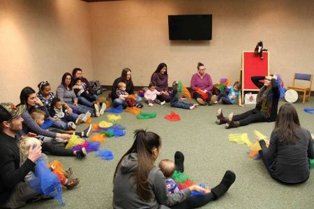 South Lake Tahoe Library, Mother Goose on the Loose (Ages Birth to 2), 10:30 am & 11:30 am