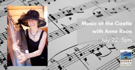 Sierra State Parks Foundation, Music in the Castle with Anne Roos