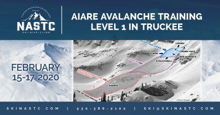 North American Ski Training Center, AIARE Avalanche Training Level 1 in Truckee