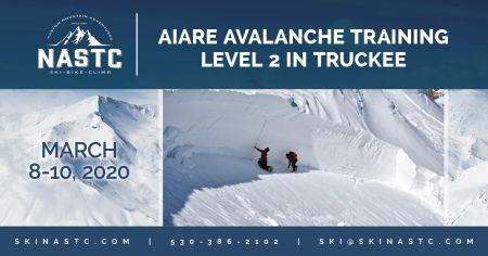 North American Ski Training Center, AIARE Avalanche Training Level 2 in Truckee