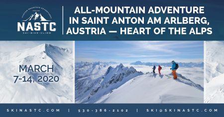 North American Ski Training Center, All-Mountain Adventure in Saint Anton am Arlberg, Austria