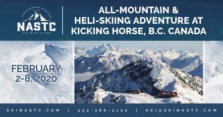North American Ski Training Center, All-Mountain & Heli-Skiing Adventure at Kicking Horse, Canada