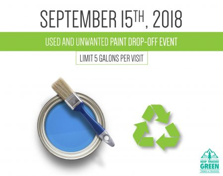 Mountain Hardware & Sports, Paint Drop-off Event