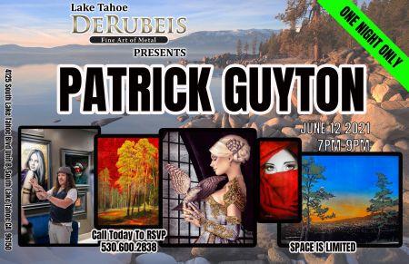 DeRubeis Fine Art, Patrick Guyton Art Show