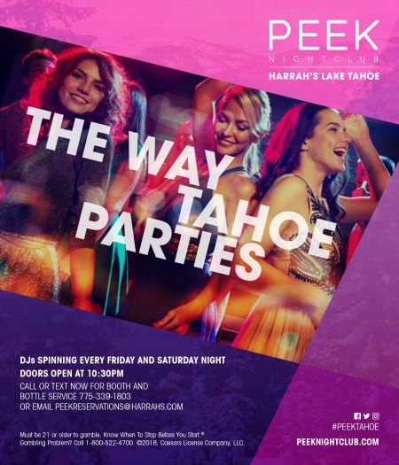 Peek Nightclub, Fridays at Peek:Ladies and Locals Night