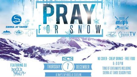 Powder House Ski & Snowboard, McP's Pray for Snow Party