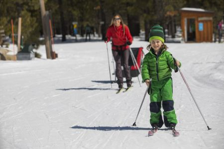 Tahoe Donner Cross Country Ski Area, National Learn to Ski Month: Two for One Lessons