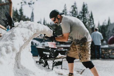 North Lake Tahoe SnowFest, Snow Sculpture Contest