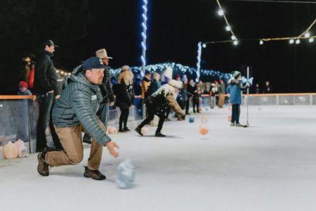 North Lake Tahoe SnowFest, Milk Jug Curling