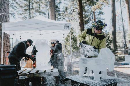 North Lake Tahoe SnowFest, 2021 Wine N Ice Competition