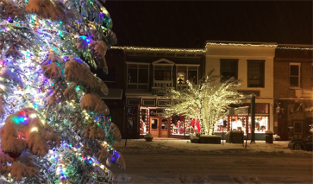 Truckee Downtown Merchants Association, Downtown Holiday Festival & Bud Fish Tree Lighting