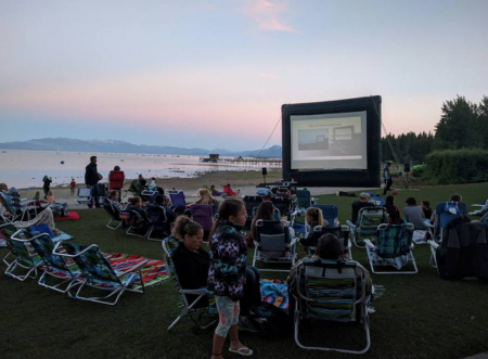 Tahoe City & West Shore Events, Tahoe City Lakeside Outdoor Movie Series