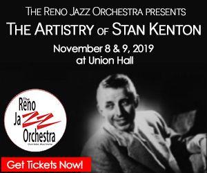 Reno Jazz Orchestra, The Artistry of Stan Kenton - presented by Reno Jazz Orchestra