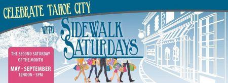 Tahoe City Downtown Association, Sidewalk Saturday's
