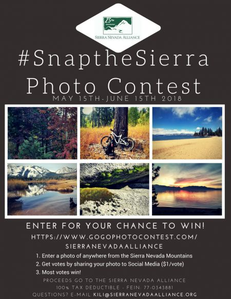 Sierra Nevada Alliance, Snap the Sierra Photo Contest