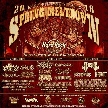 Hard Rock Hotel & Casino, Spring Meltdown Festival