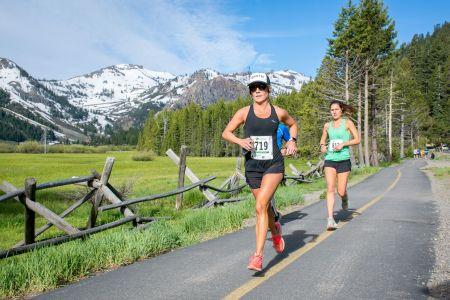 Big Blue Adventure, Squaw Valley Half Marathon & Run to Squaw 8 Miler
