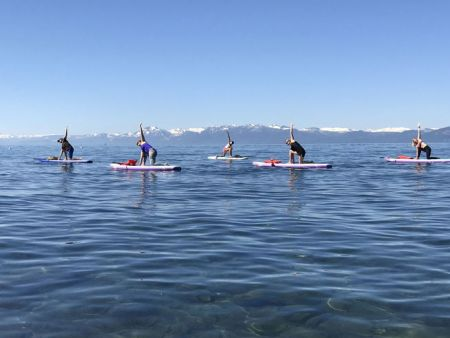 Well Being Tahoe, Stand Up Paddleboard Yoga