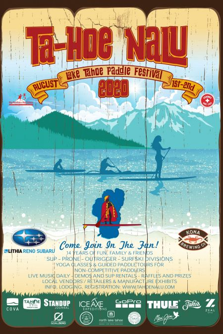 North Lake Tahoe Chamber, CVB, Resort Association (NLTRA), TaHoeNalu Paddle Festival
