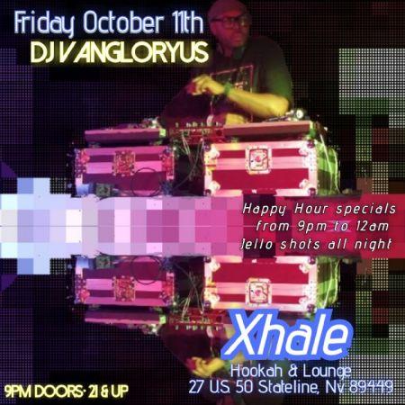Xhale Bar & Lounge, DJ V Angloryus