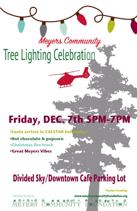 Meyers Community Foundation, Meyers Community Foundation Annual Tree Lighting