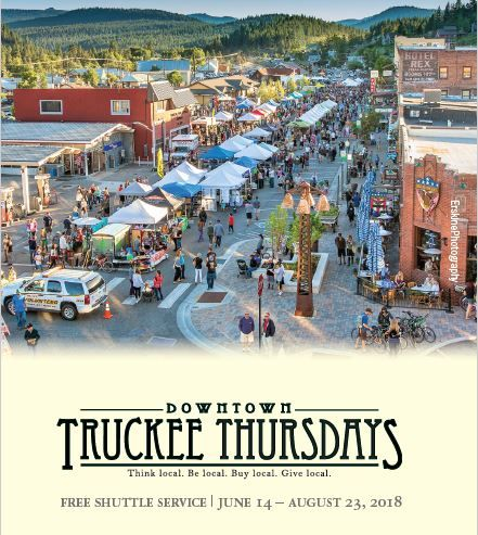 Truckee Tahoe Transportation Management Association, Free Shuttle for Truckee Thursdays