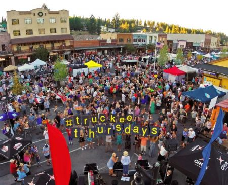 Truckee Downtown Merchants Association, Truckee Thursdays